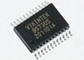 磁卡解码芯片(BS730S /SSOP 24)三轨