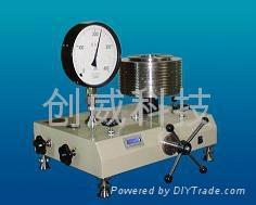 CW-2500T超高壓活塞式壓力計