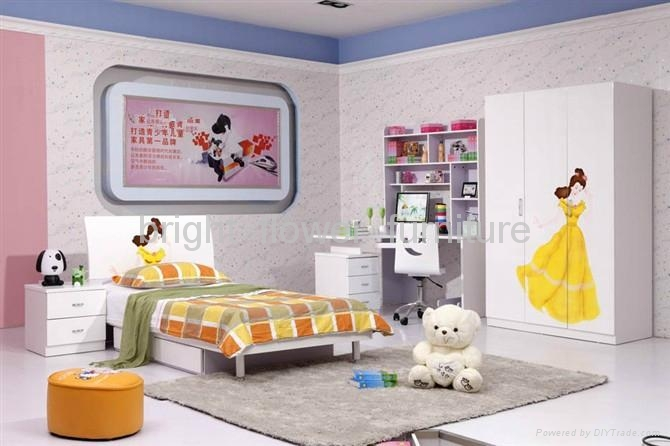 2013 Most Popular Princess Children Bedroom Furniture China