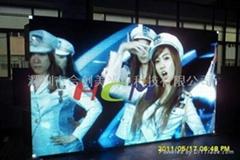深圳體育廣場P12戶外全彩LED顯示屏