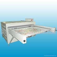 Automatic oil hydraulic double stataion sublimation heat transfer machine