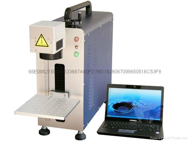便携式光纤激光打标机 1