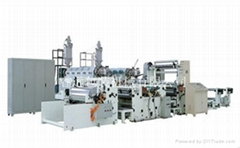 High speed lamination composite unit