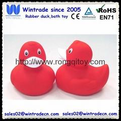 PVC duck bathroom kids toy