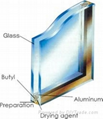 6/12A/6 insulated glass