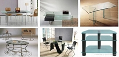 extra clear furniture glass