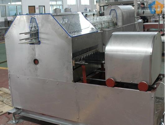 Automatic glass bottle washing machine 1