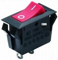 Rocker Switch with CQC UL VDE ENEC