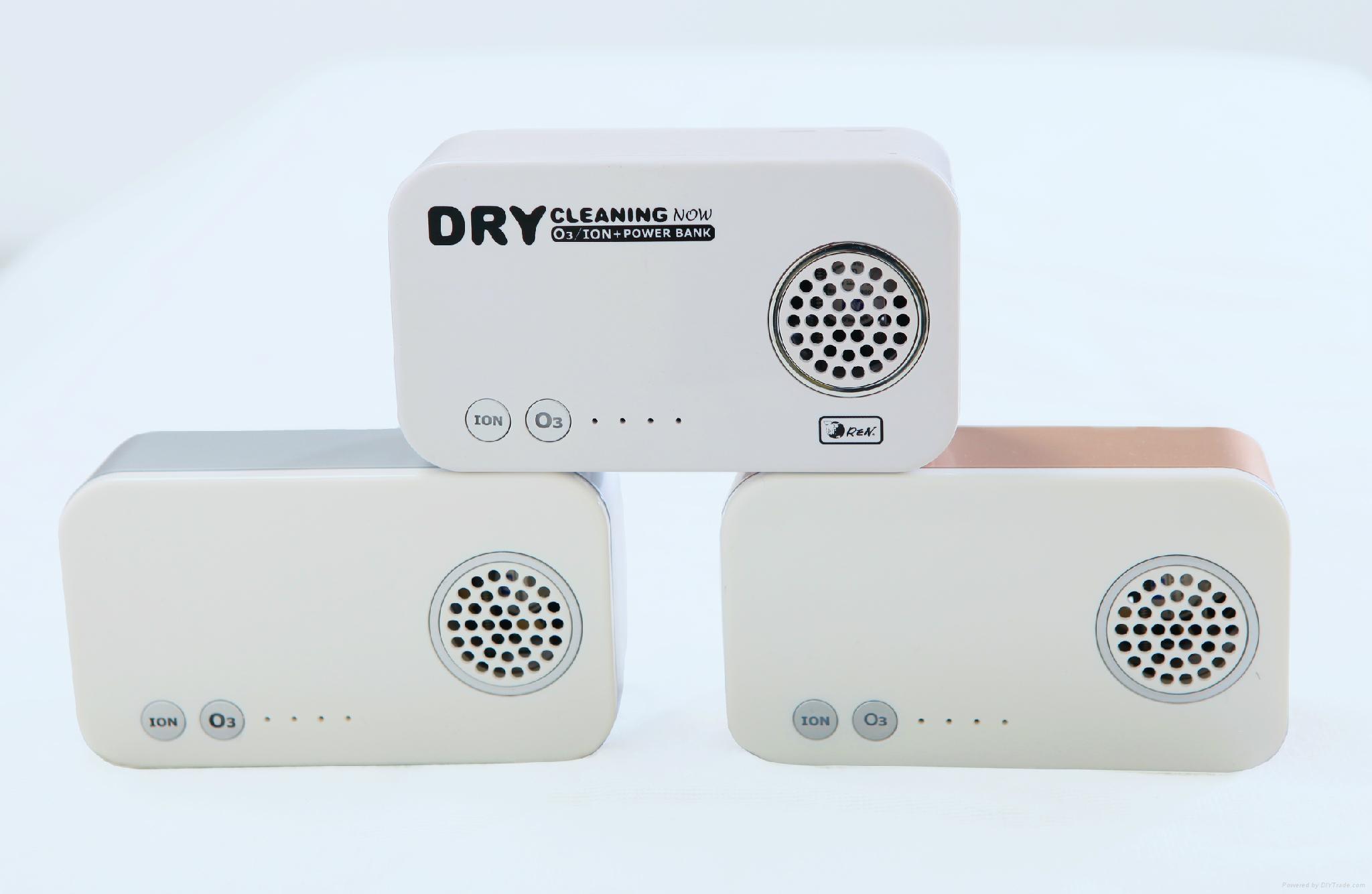 O3 Ion Ionizer Air Purifier Cleaner Auto Freshener Deodorizer Power Bank  3