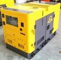 Low Noise Water Cooling Diesel Generator Set