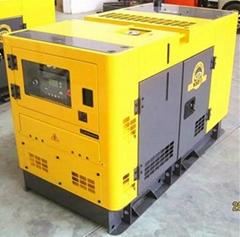 低噪音水冷柴油發電機組