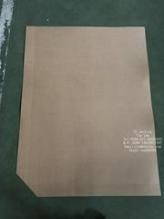 客户指定包装用的slip sheets 国内称作纸滑板