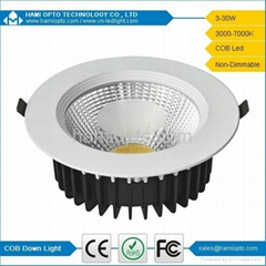 Discount CE COB LED down light 5W AC85-265V