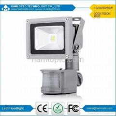 10W High Power LED Floodlight PIR