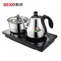 W8 全自动底部上水电热水壶茶台嵌入式烧水壶304不锈钢 1