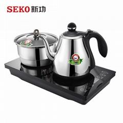 W8 全自動底部上水電熱水壺茶台嵌入式燒水壺304不鏽鋼