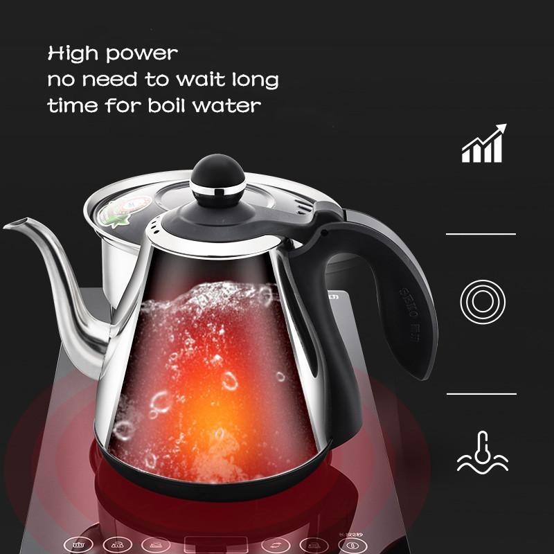 W8 全自动底部上水电热水壶茶台嵌入式烧水壶304不锈钢 4