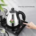 W8 全自动底部上水电热水壶茶台嵌入式烧水壶304不锈钢 5