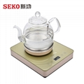 SEKO W13 Automatic water pumping from bottom electric kettle 1