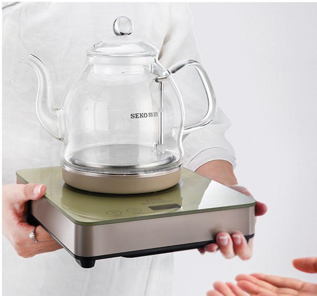 W13底部上水电热水壶全自动玻璃烧水壶家用泡茶壶电茶炉 2
