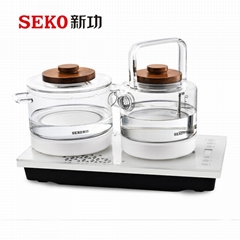 W6 Automatic water pumping from bottom electric Tea Maker
