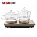 W7全自动底部上水电热水壶茶具