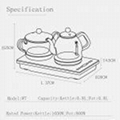 W7 Automatic water pumping from bottom electric Tea Maker 5