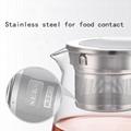 SEKO High Temperature Resistant Kettle Tea Basket automatic rising-lowering Cup 3
