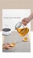 SEKO High Temperature Resistant Kettle Tea Basket automatic rising-lowering Cup 5