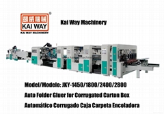 Auto Folder Gluer for Corrugated Carton Box