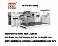 High Speed Auto Foil Stamping and Die