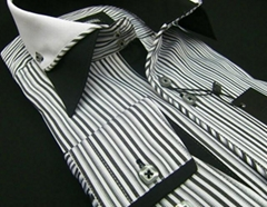 Model Hilbert men's slimfit shirts (production & wholesale)