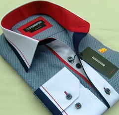 Model Chabby slimfit men's shirts