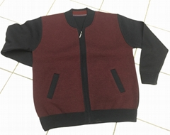 Cardigans with zip for men (production & wholesale)