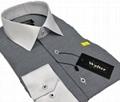 white collar slimfit men dress shirts 1