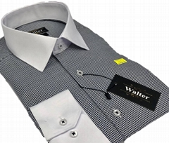 white collar slimfit men dress shirts