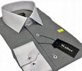 white collar slimfit men dress shirts 2