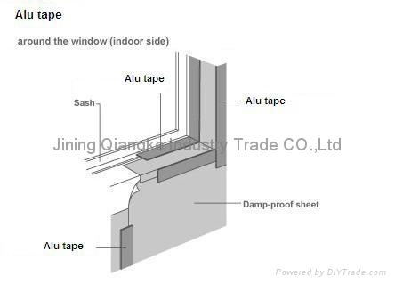 alu self-adhesive bitumen waterproof tape 3