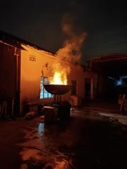3d火焰霧化電壁爐仿真火炬火把篝火火焰燈