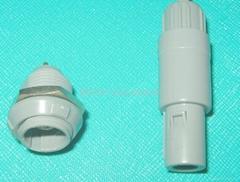 厂家供应MOCO塑料接头 医用连接器