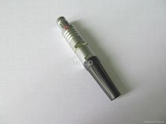 F系列半圆定位插头连接器接插件航空头