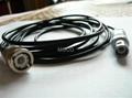 C9 to BNC(C9-Q9) RG174 coaxial cable assemblies 1