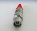 1S coaxial connector for RG174 transducer probe C9 plug