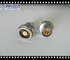 三同轴连接器 面板安装固定式插头插座