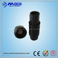 MOCO 2P Series Plastic Connectors BIGGER size for Medical devices