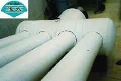 Wrap pipe outer tape xunda