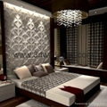 fashionable living room wall paper
