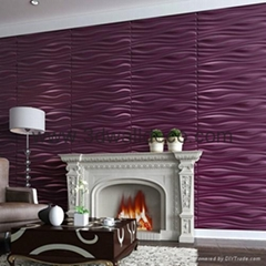 3D wallpaper eco friendly with the embossed relief