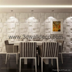 3d board wallpaper for interior wall decoration