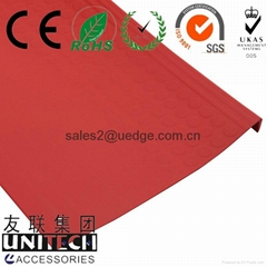 PVC Stair Tread Cover with raised disc